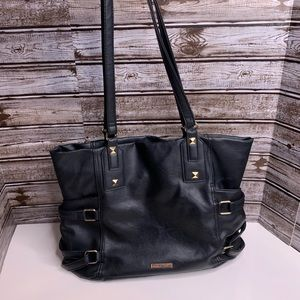 Rampage medium size purse black with studs buckles